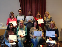 Group of Level 2 trainees March 2015